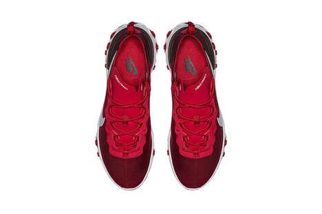 Tonal Opaque Running Shoes
