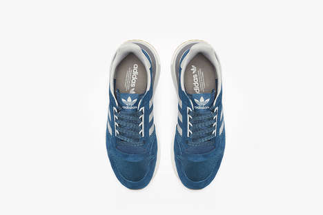 Retro Mesh Panel Sneakers