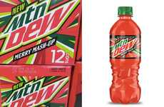 Festive Cranberry Sodas - Mountain Dew Merry Mash-Up Combines to Tasty Holiday Flavors