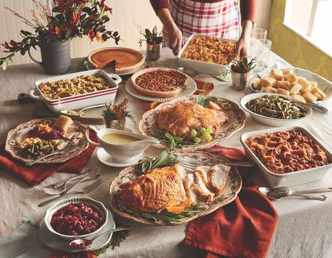Heat-and-Serve Thanksgiving Dinners