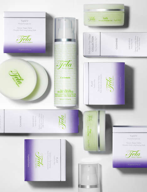 "Versatile Probiotic Haircare - The Tela Modern Hair Wear Collection Introduces ""Textiles for Hair"""