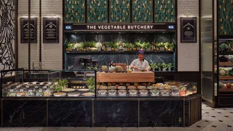 Plant-Based Butcher Stations