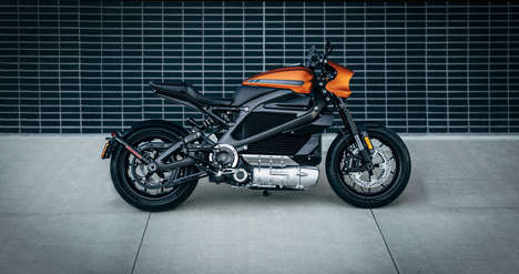 Electric Twist-and-Go Motorbikes - This Harley-Davidson Motorbike is a First for the Iconic Company