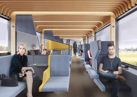 Work-Focused Commuter Trains
