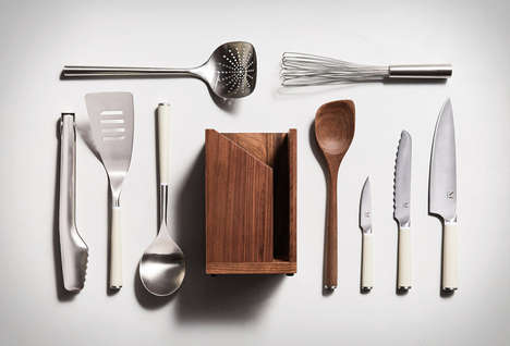 Essential Kitchen Tools - The Iconics Kitchen Set Offers Minimalist Aesthetics and Great Performance
