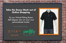 Online Fitting Rooms - Otero Menswear's Site Offers a Virtual Try-On Experience Powered by Perfitly