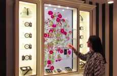 Interactive Fragrance Cabinets
