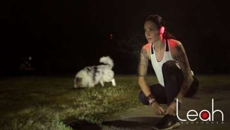 Illuminated Safety-Focused Headphones