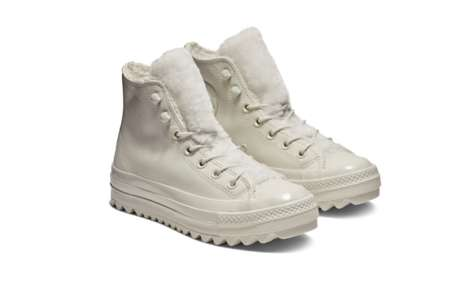 Warm Winter-Ready Sneakers