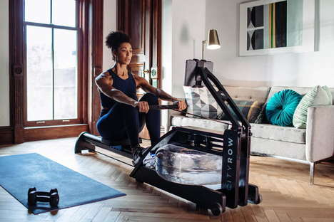 App-Integrated Workout Machines