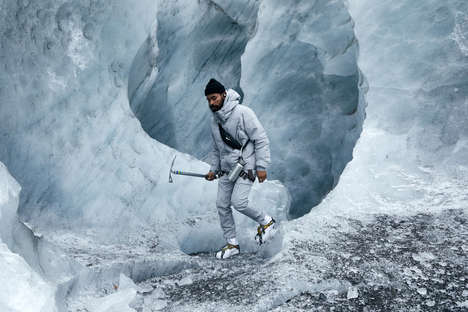 Strikingly Icy Lookbook Photography