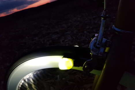Magnetic Field Bike Lights