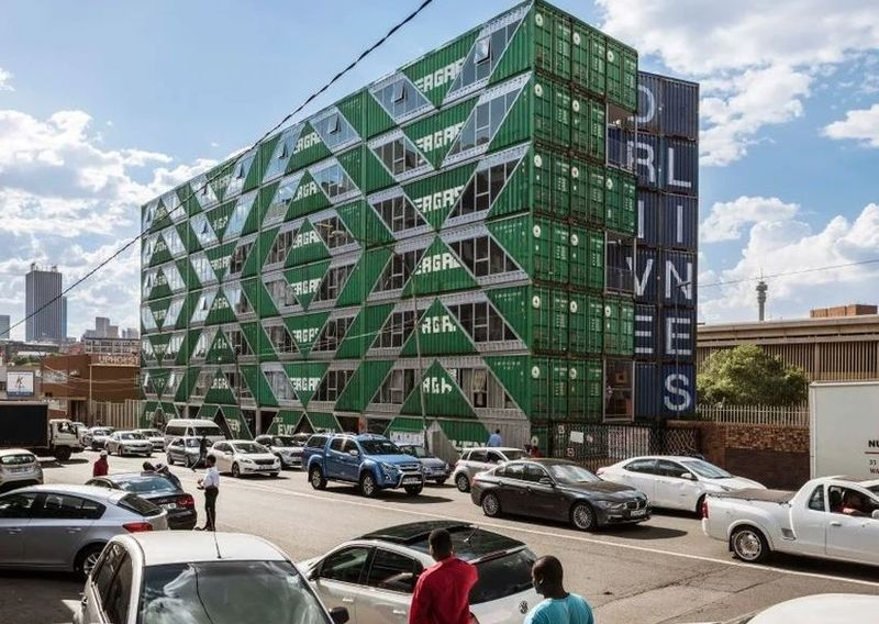 Recycled Shipping Container Apartments