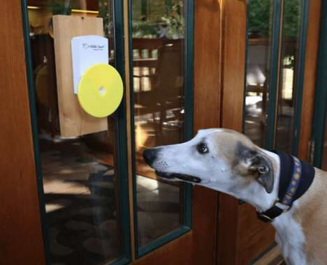 Canine-Friendly Doorbells - The Pebble Smart Doggie Doorbell is Simple for Dogs to Use