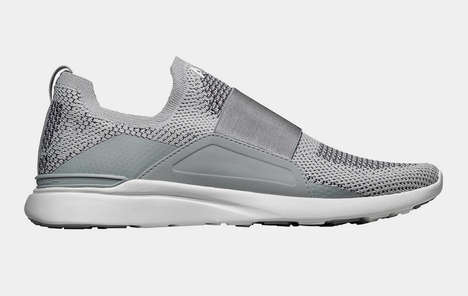 Futuristic Slip-on Training Shoes