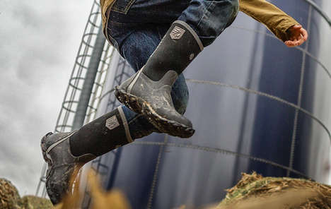 Rugged Rubber Youth Boots