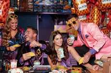 Taco Chain Birthday Parties - 'PARTY by Taco Bell' Allows People to Book Parties at Taco Bell