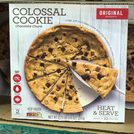 Three-Pound Chocolate Chip Cookies - Costco's New Colossal Cookie is Fit for a Crowd