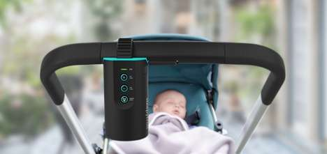 Automated Infant Rocking Devices - The 'Sleepytroll' Lulls Infants to Sleep When They Wake Up