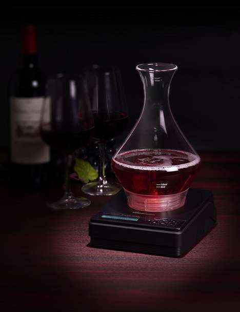 Connected Wine Aeration Appliances