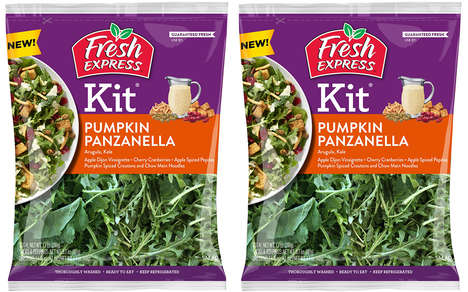 Restaurant-Inspired Salad Kits - The New Fresh Express Salad Kits Come in Two Flavor Options