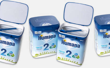 Free-From Infant Formula Packaging - The myHumana Pack Baby Formula Packaging is Protective