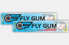 Jet Lag-Combating Chewing Gums - Fly Gum is Packed with Caffeine and Vitamins