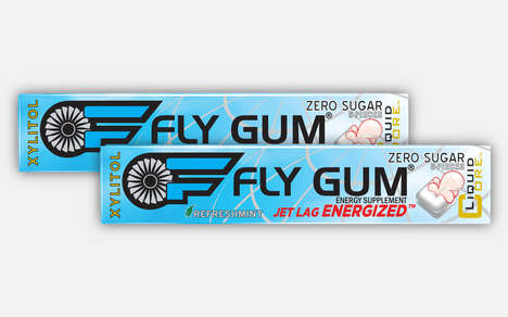 Jet Lag-Combating Chewing Gums