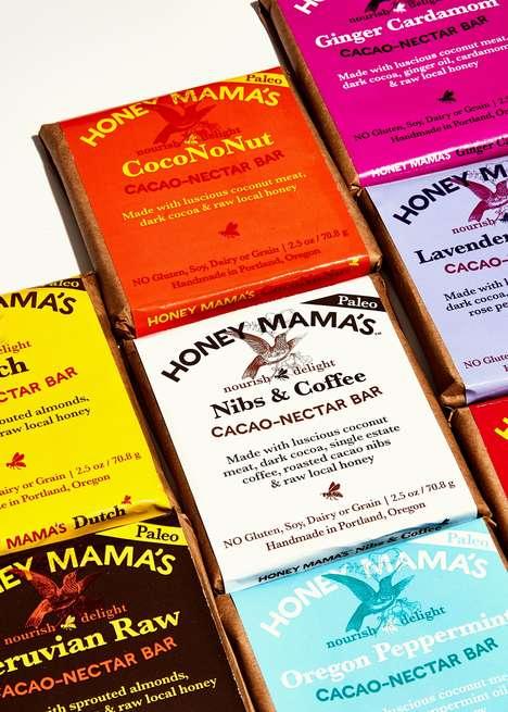 Nutritious Raw Chocolate Bars