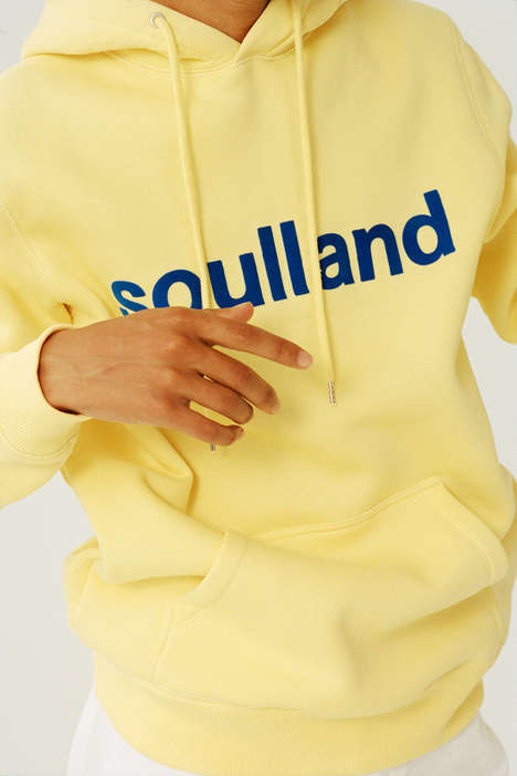 Simplistic Sustainable Streetwear - Solland's Logic Collection is Constructed from Organic Cotton