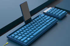 Smartphone-Accommodating Keyboards