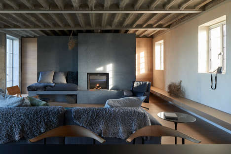 Low-Lying Concrete Holiday Homes