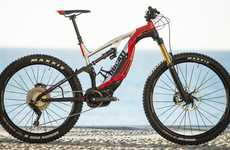 Electric-Assisted Mountain Bikes