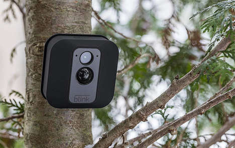 All-Weather Security Cameras - The Blink XT Outdoor Camera Works with Amazon Alexa and More