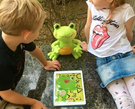 Interactive Education Plush Toys - The 'FroggySMART' Toy Teaches Math, Plays Music and More