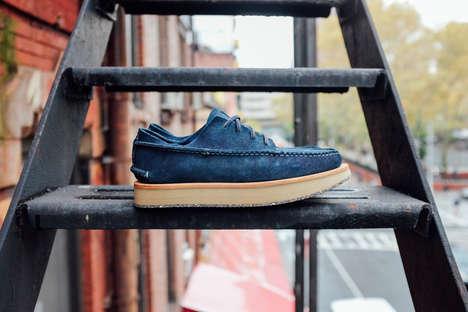 Full-Grain Leather Indigo Shoes