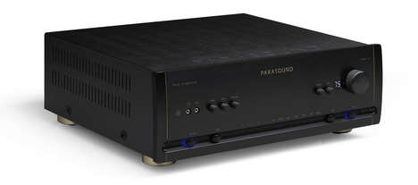 High-End Integrated Amplifiers - The Halo HINT 6 Offers Impressive Audio Power and Versatility