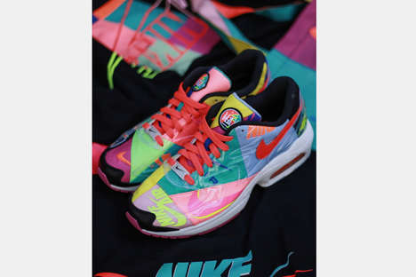 90s-Inspired Colorful Runners