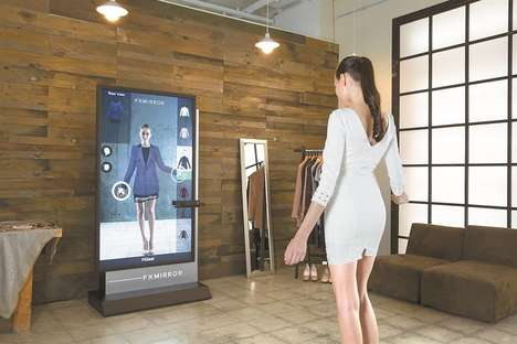 AR Fitting Room Features - The FXMirror by FXGear Helps Users Virtually Try on Garments