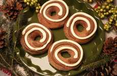 Cinnamon-Swirled Donuts - Krispy Kreme's Cinnamon Swirl Donut Takes the Best Parts of Cinnamon Buns