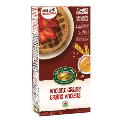 Tasty Ancient Grains Waffles