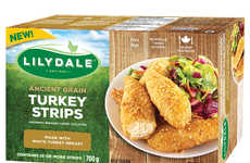 Ancient Grain Turkey Strips - This Lilydale Product is a Quick, Easy-to-Make Nutritious Treat