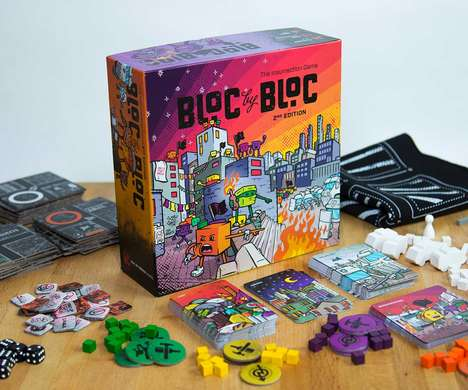 Revolution-Inspired Board Games
