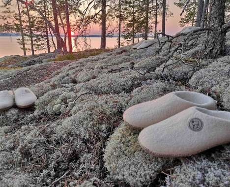 Healthy Wool-Made House Shoes - The Felts Merino Wool Health Shoes are Organic and Biodegradable