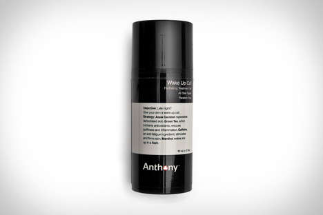 Hangover-Hiding Face Products - The Anthony's Wake Up Call Treatment Gel Eliminates Skin Fatigue