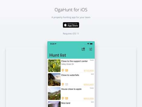 Collaborative Property-Hunting Apps