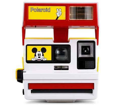 Character-Celebrating Retro Polaroid Cameras