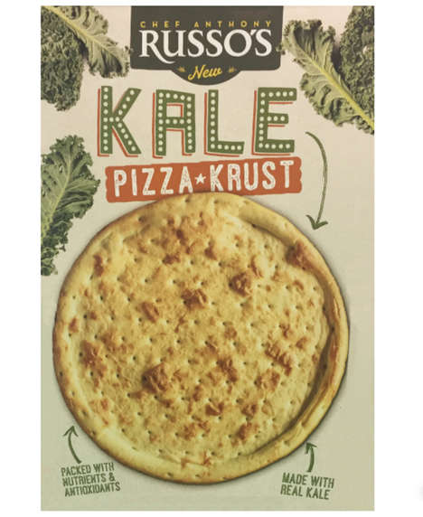 Kale-Packed Pizza Crusts
