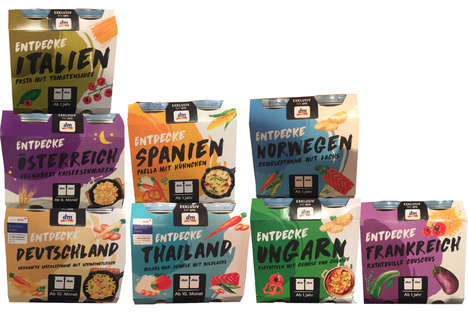 Ethnically Inspired Baby Foods - 'dm-drogerie markt' Offers Globally Inspired Flavors of Baby Food