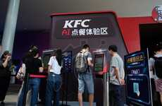 AI-Powered Ordering Kiosks - KFC and Alibaba are Introducing Next-Gen Self-Ordering Kiosks